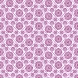 Modelo regular inconsútil con las flores rosadas Fondo regular fotografía de archivo
