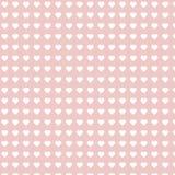 Modelo repetible del corazón, Rose Valentine Heart Background Fotografía de archivo
