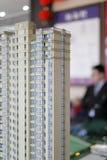 Modelo residencial do arranha-céus Fotografia de Stock