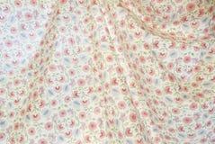 Modelo retro colorido de la tapicería con el ornamento floral Foto de archivo libre de regalías