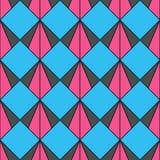 Modelo retro de formas geométricas Contexto colorido del mosaico El fondo retro del inconformista geométrico, pone su texto en el libre illustration