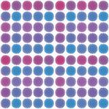 Modelo retro geométrico abstracto inconsútil polka Fotos de archivo