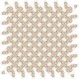 Modelo retro inconsútil Texture_49 de Dots Stiped Colorful Fabric Geometric del extracto stock de ilustración