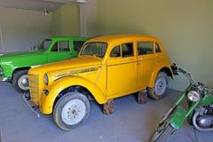 Modelo retro Moskvich del coche Foto de archivo libre de regalías