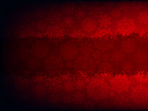Modelo rojo de la tarjeta de Navidad. EPS 8 Imágenes de archivo libres de regalías