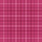 Modelo rojo de la tela escocesa de la frambuesa inconsútil Foto de archivo