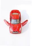 Modelo rojo del coche deportivo Fotografía de archivo