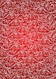 Modelo rojo inconsútil Fotos de archivo libres de regalías