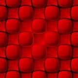 Modelo rojo inconsútil del azulejo ilustración del vector