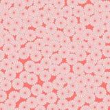 Modelo rojo japonés del crisantemo libre illustration