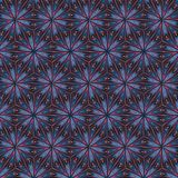 Modelo rojo metálico de los triángulos para el efecto del vitral Foto de archivo libre de regalías