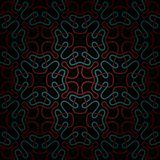 Modelo rojo oscuro y azul abstracto inconsútil con pendiente Foto de archivo