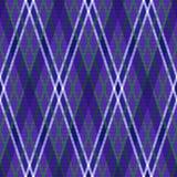 Modelo rombal inconsútil en las tonalidades violetas stock de ilustración
