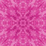 Modelo rosado de la mesa del fondo Imágenes de archivo libres de regalías