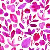 Modelo rosado de las flores en blanco libre illustration