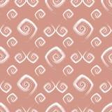 Modelo rosado inconsútil abstracto (vector) Imagen de archivo libre de regalías
