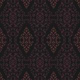 Modelo rosado y negro del damasco Foto de archivo libre de regalías