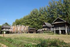 Modelo rural da casa Imagens de Stock Royalty Free