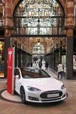 Modelo S de Tesla Imagem de Stock