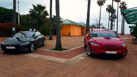 Modelo S And Tesla Model de Tesla X filme