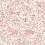 Modelo seanless rosado stock de ilustración