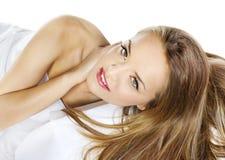 Modelo sensual de la mujer Imagen de archivo libre de regalías