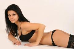 Modelo 'sexy' Imagens de Stock Royalty Free