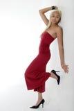 Modelo 'sexy' que mostra a grande figura fotografia de stock royalty free