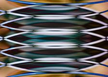 Modelo simétrico del montaje del espejo imagen de archivo libre de regalías