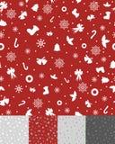 Modelo simple de la Navidad Imagen de archivo libre de regalías