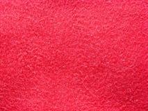 Modelo suave rojo del textil Fotografía de archivo libre de regalías