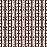 Modelo superficial inconsútil con el ornamento simétrico Líneas y textura diagonales repetidas de los círculos Fondo geométrico stock de ilustración