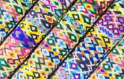 Modelo suramericano de la materia textil Fotografía de archivo libre de regalías