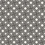 Modelo sutil inconsútil del enrejado del vector Textura elegante moderna con enrejado monocromático Repetición de rejilla geométr libre illustration