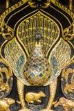 Modelo tailandés del pavo real Imagen de archivo