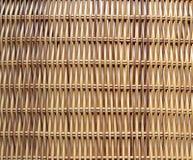 Modelo tejido de la paja Fotografía de archivo libre de regalías