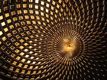 Modelo tejido del acoplamiento Fotografía de archivo libre de regalías