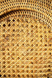 Modelo tejido mimbre para el fondo o la textura Foto de archivo