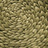 Modelo tejido mimbre para el fondo o la textura Fotografía de archivo