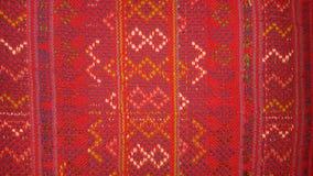 Modelo tejido rojo Imagen de archivo libre de regalías