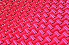 Modelo tejido tejado Fotografía de archivo libre de regalías