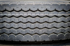 Modelo texturizado de un nuevo fondo del neumático del camión Foto de archivo libre de regalías