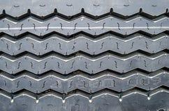 Modelo texturizado de un nuevo fondo del neumático del camión Imágenes de archivo libres de regalías