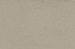 Modelo texturizado vertical grande macra detallada de color caqui beige del espacio de la copia de la arpillera de la lona de lin Fotografía de archivo