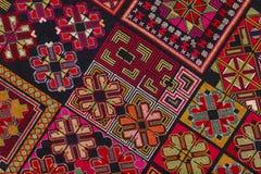 Modelo étnico del bordado Imagen de archivo libre de regalías