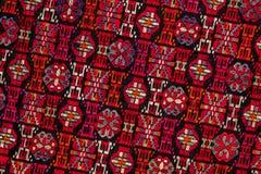 Modelo étnico del bordado Foto de archivo libre de regalías