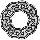 Modelo tradicional céltico Foto de archivo