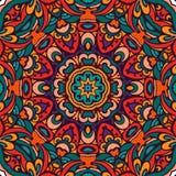 Modelo tribal étnico colorido festivo Imagen de archivo libre de regalías