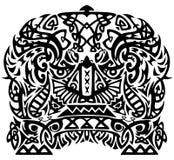 Modelo tribal Imagen de archivo libre de regalías