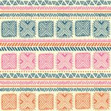 Modelo tribal abstracto Imagen de archivo